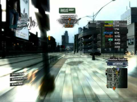 Burnout Paradise Funny Gameplay with the Olympus