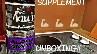 Supplements Unboxing!!