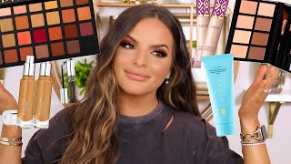 FULL FACE OF MAKEUP I NEVER USE! HIT OR MISS? | Casey Holmes