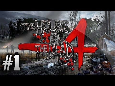 THE HOUSE OF THE DEAD 4 | CAPITULO 1 | LA HUIDA | PS3/PSN