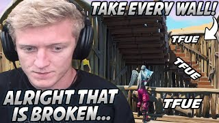 Tfue Is MIND BLOWN After Trying The NEW Method PRO PLAYERS Use To Take EVERY Build... (Broken)