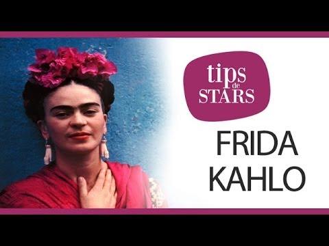 Tips de stars - La coiffure mexicaine de Frida Kahlo