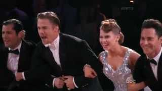 Bindi Irwin & Derek Hough - Quickstep ( Judges' choice )