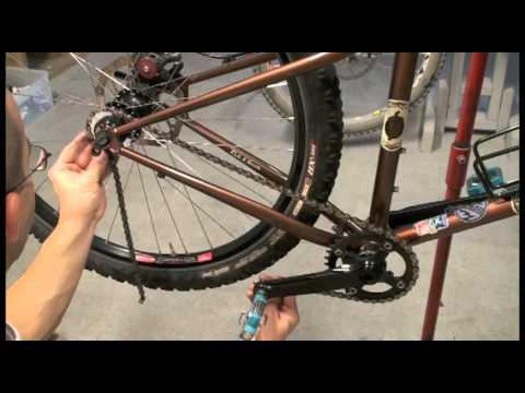 how to turn on a road bike