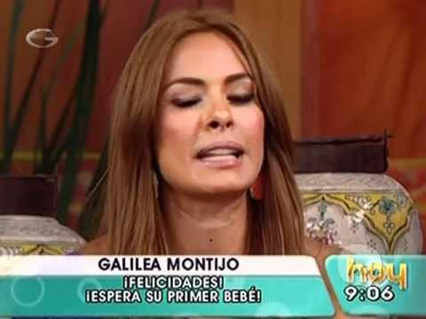 Galilea Montijo feliz  �anuncia su embarazo!  en Hoy