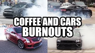 The BEST Burnouts - Coffee and Cars Compilation