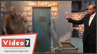 بالفيديو .. المشغل وورشة الحدادة والمطبخ وميزان الطعام بشكلها القديم داخل سجن طرة