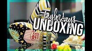Unboxing POPCORN HEELS! - (Taylor Says)