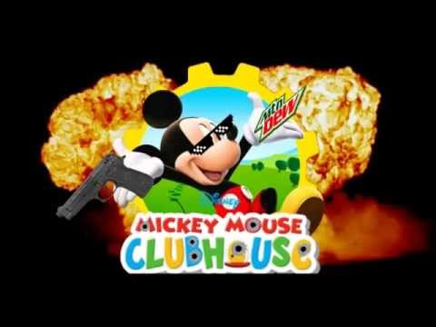 Mickey Mouse trap house  Mickey Mouse Clubhouse theme song remix