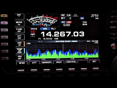 Icom IC 7700 at CQ WPX Contest 2011