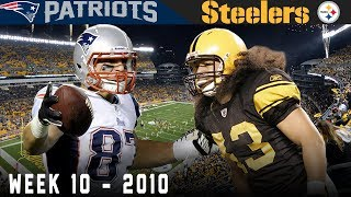 Gronk's FIRST Big Game! (Patriots vs. Steelers, 2010)