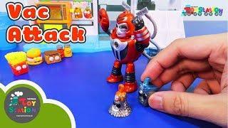 Mở đồ chơi Grossery Gang, Vac Attack trùm Clean Team xuất hiện ToyStation 168