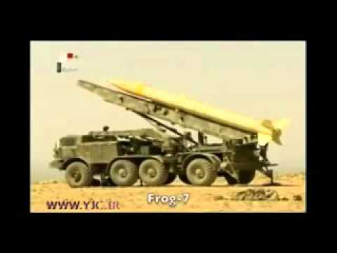 iran missile power in syria against wahhabi ISIS