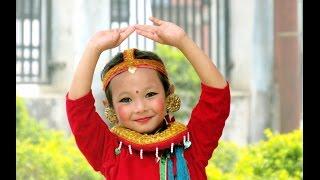 "Amazing 6 yrs Girl Dancing on Kunti Moktan's Song ""Hijo Rati Timilai"""