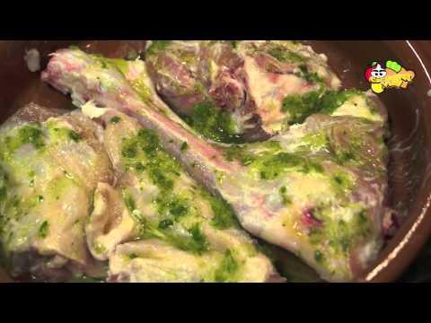 Receta 54# Cordero lechal al horno