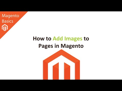 How to Add Images to Pages in Magento