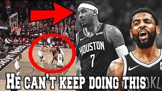 Kyrie Irving & The Brooklyn Nets HAVE A HUGE PROBLEM (Highlights, Carmelo Anthony, NBA 50 Points)