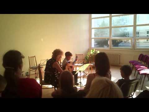 Viktor Absolventský Koncert 2013 - Klasická Kytara Česká Lípa