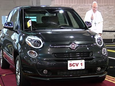 Pope's Fiat Goes Up For Auction In Philadelphia