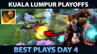 KUALA LUMPUR MAJOR - Best Plays of Day 4 [Playoffs] - Dota 2