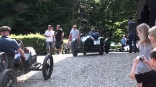 Bugatti Type 51 and MG K3 varm-up