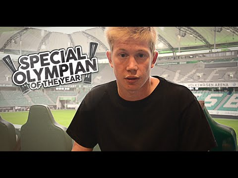 Support Kevin De Bruyne's campaign for a Special Olympian of the Year.