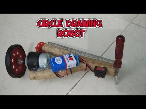 How to make a circle drawing robot