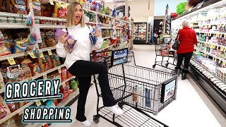 grocery shopping with alisha! vlogmas day 3
