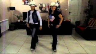 OPEN HEART COWBOY - Danse Country de Style Catalan