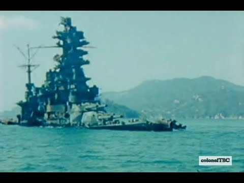 What happens when you mess with the US Navy - Battleship Hyuga