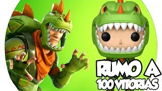 💀RUMO A 100 VITORIAS! FORTNITE MOBILE #36