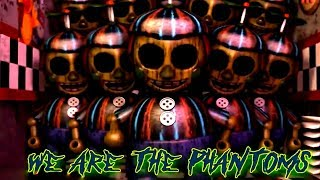 FNAF SFM Song: We Are The Phantoms (Five Nights At Freddy's Animation)