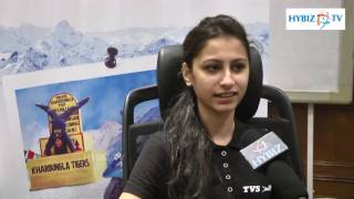 Himalayan Highs TVS Scooty Zest Rider Anam Hashim - hybiz