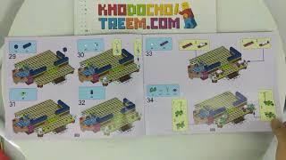 Hướng dẫn lắp ráp Lepin 01040 Lego Friends 41323 Snow Resort Chalet giá sốc rẻ nhất