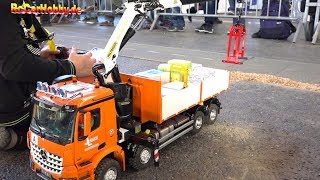 AMAZING RC CONSTRUCTION SITE, TRUCK MODELS AT FAIR FRIEDRICHSHAFEN 8