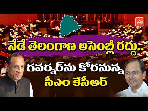 CM KCR to Dissolve Telangana Assembly Today | KCR Meet Governor ESL Narasimhan | YOYO TV Channel