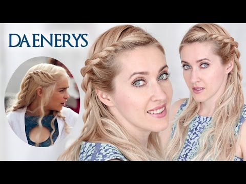 Back to School: Daenerys hairstyle tutorial, Game of Thrones