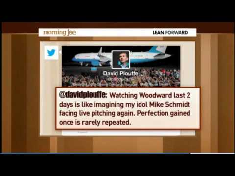 "Scarborough: Obama Adviser David Plouffe ""Childish"" for Tweet Comparing Woodward to Aging Athlete"