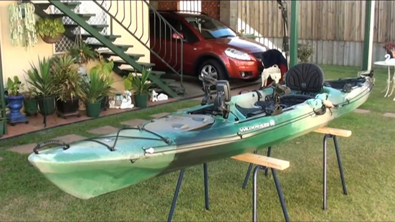 Wilderness Systems Tarpon 140 Setup Youtube