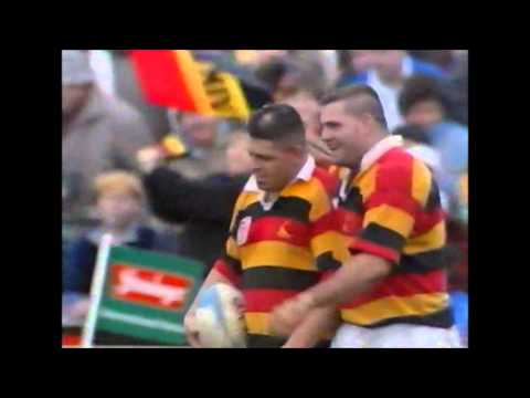 Warren Gatland try vs British & Irish Lions 1993