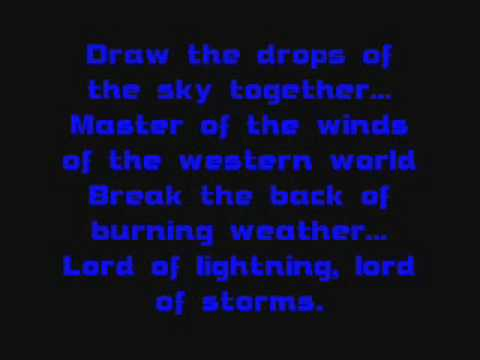 Thor Lyrics