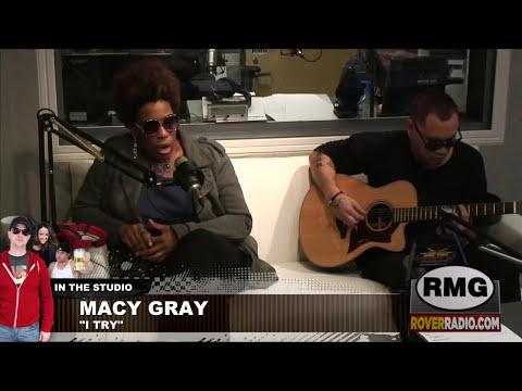 Macy Gray performs