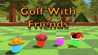 WEEWOO WEEWOO IM A POLICEBALL! Golf With Friends Online
