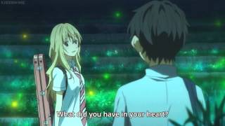 """I had you"" - Your Lie in April Ep. 11 (sub)"