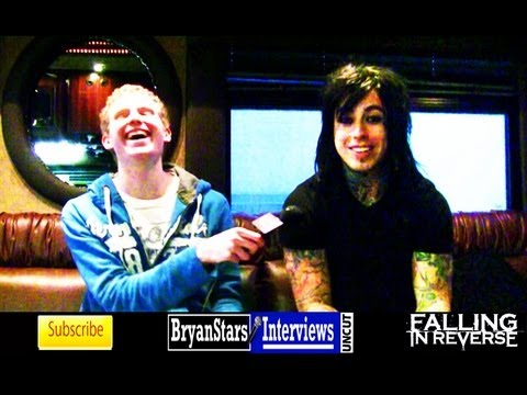 Falling In Reverse Interview #2 Ronnie Radke UNCUT 2013