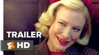 Video clip Carol Official US Trailer #1 (2015) - Rooney Mara, Cate Blanchett Romance Movie HD