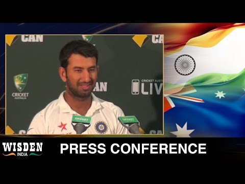 Cheteshwar Pujara press conference | Australia v India, First Test, Day 3 | Wisden India