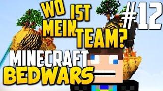 Minecraft BEDWARS: Plötzlich OHNE MEIN TEAM? - #12 Minecraft Bedwars