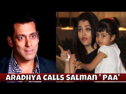 Shocking! Aishwarya's Daughter Aaradhya Calls Salman Khan PAA On Stage | Filmfare Awards 2016