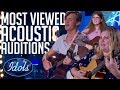 5 MOST Viewed Acoustic Song Auditions On American Idol 2018   Idols Global